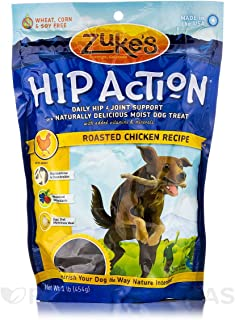 product image for Zuke's Hip Action Dog Treat Size: 1 Pound, Flavor: Chicken