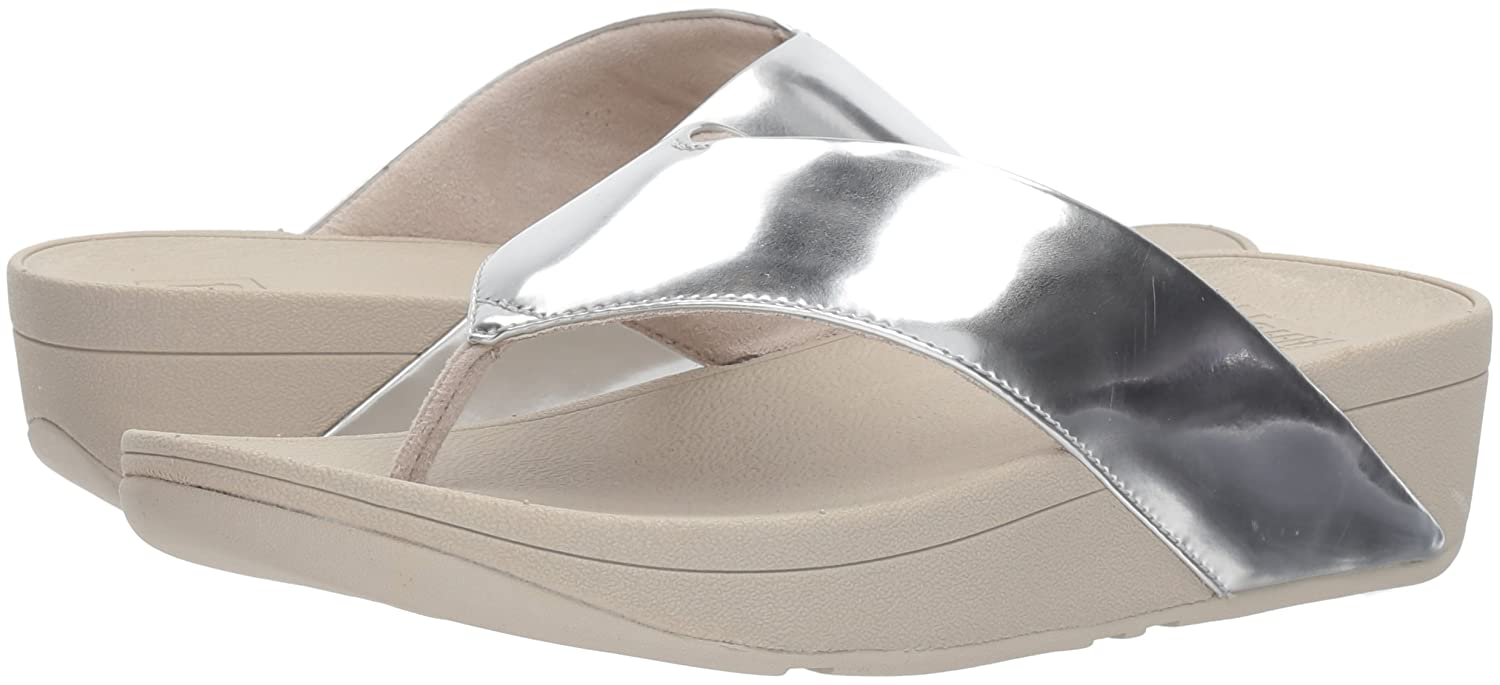 dc3220e531f98 FitFlop Women s Swoop Toe-Thong Sandals