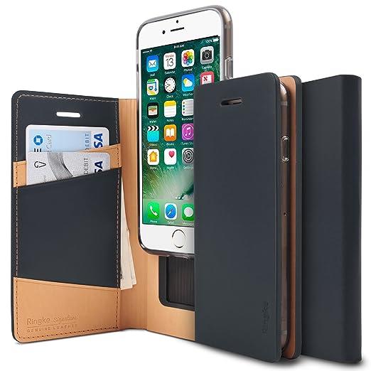 3 opinioni per Custodia iPhone 7, Ringke [SIGNATURE] Cassa del cuoio genuino [/ Card Slot 3 ID]