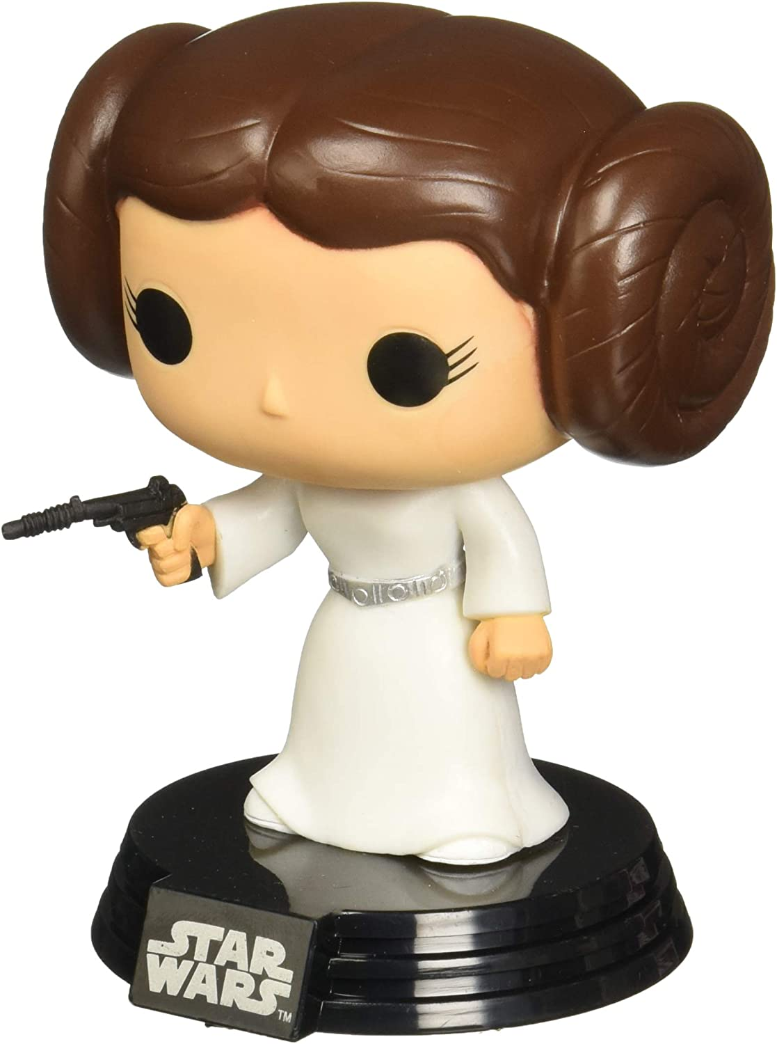 Funko - POP! Bobble Colección Star Wars - Figura Princesa Leia ...