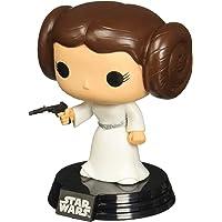 Pop 04 Princess Leia, Funko, Multicolorido, Pequeno