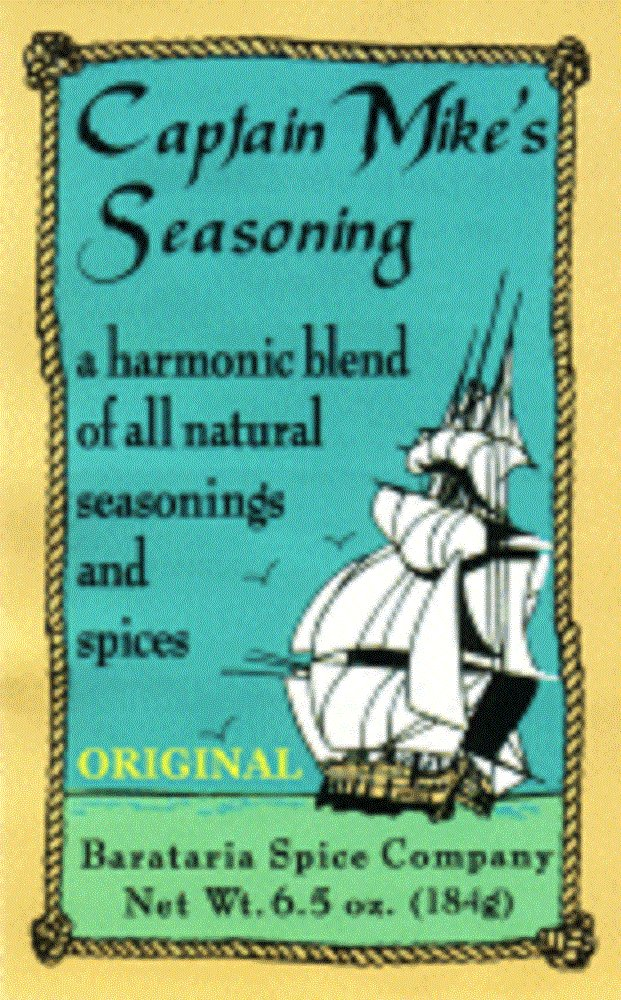 Captain Mike's Original Seasoning, 6.5 Ounce Shaker