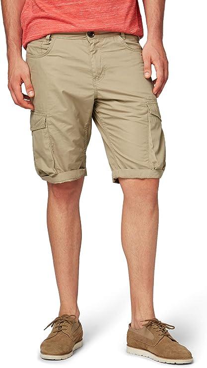 TALLA 35W. Tom Tailor - Pantalón Corto - para Hombre