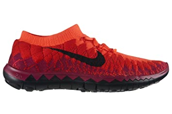 buy popular bd548 49093 Nike Women s WMNS Free Flyknit 3.0, BRIGHTCRIMSON Black-University RED-RSP,