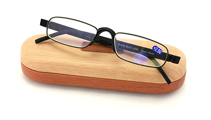 973b775a12e Slim Lightweight Computer Readers Reading Glasses - in Ergonomic Memory Flex  Frame w UV Protection