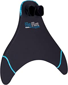Fin Fun Mermaid Monofin, Swim Fin for Kids and Adults