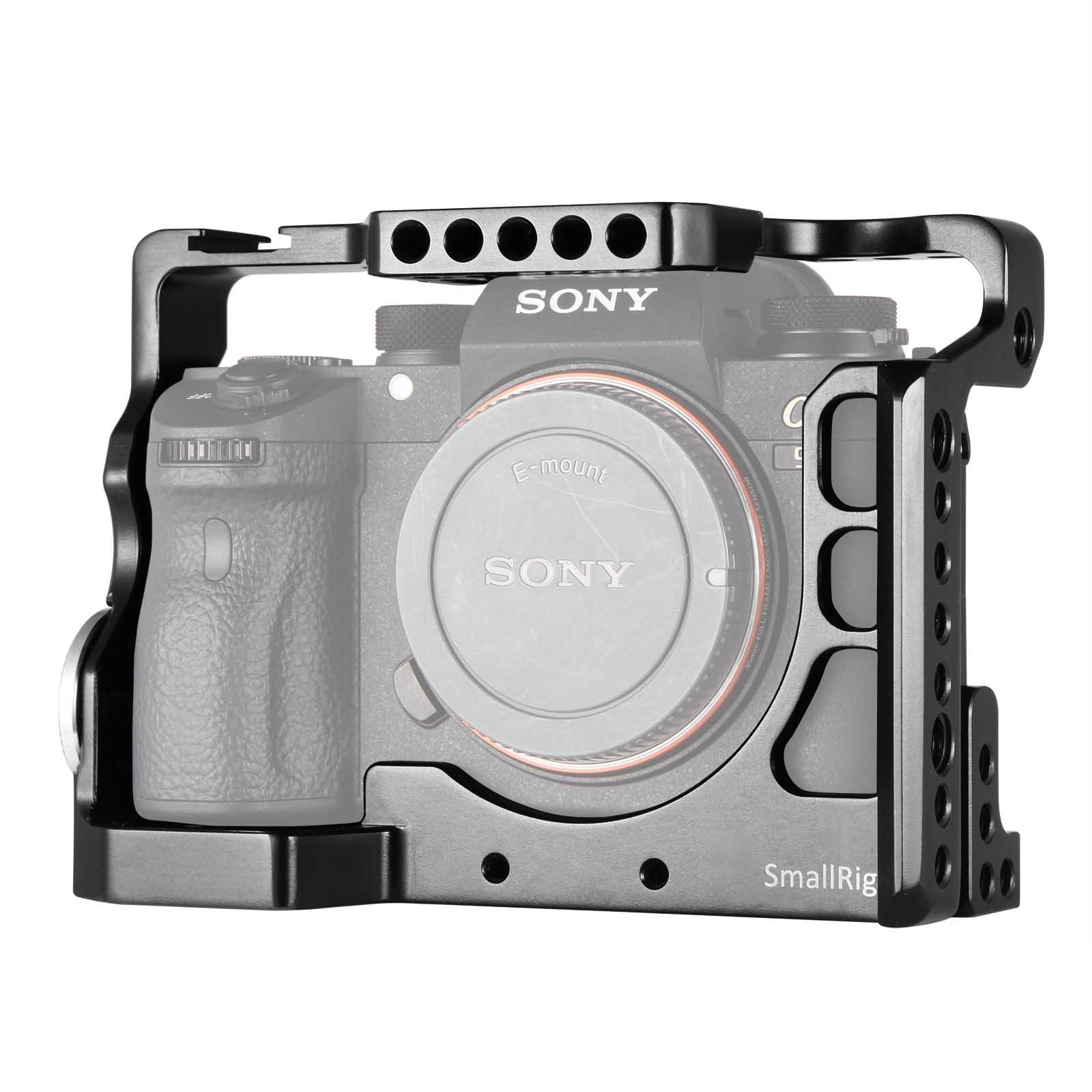 SMALLRIG 2013 Cage for Sony A9 Camera with Cold Shoe and ...