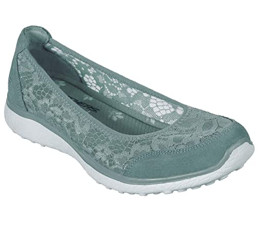 c6d7ee3a47 Skechers - Ballerine da Donna Microburst Sweet Bloom, Colore: Blu ...