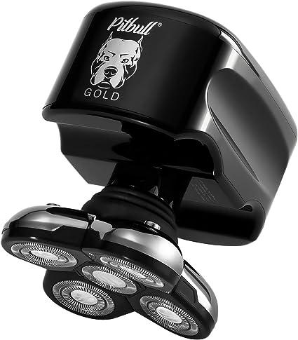 Skull Shaver Pitbull Gold Afeitadora Eléctrica para Hombre para Barba y Cabeza Afeitadora Rotativa Máquina de Afeitar Eléctrica para Cabezas Calvas: Amazon.es: Salud ...
