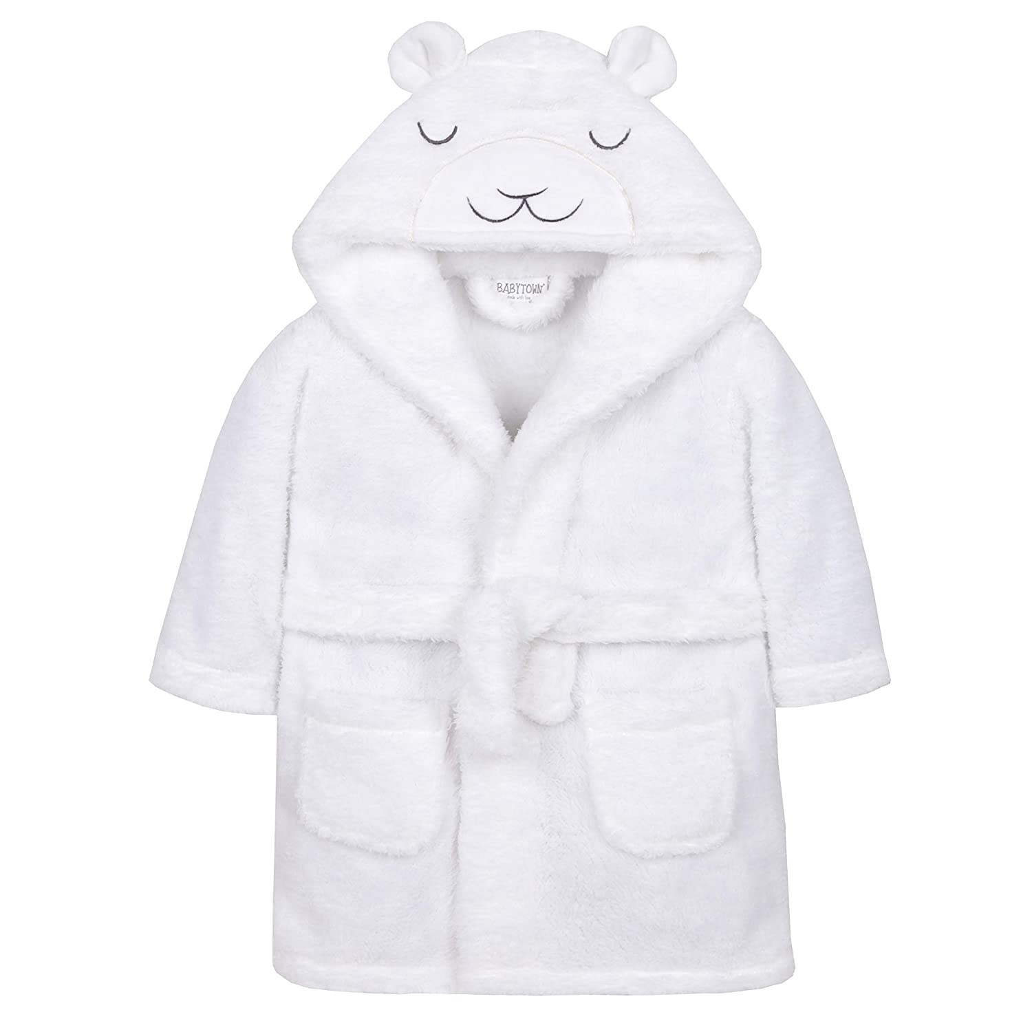 Metzuyan Baby Boys & Girls Lamb Novelty Hooded Dressing Gown