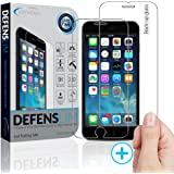 iPhone 6 Screen Protector - 6s & 6 Shatter Resistant Tempered Glass [4.7 inch] - The Best 3D Touch Compatible Shield with Oleophobic Coating and Rounded Edges - Manufacturer Lifetime Warranty