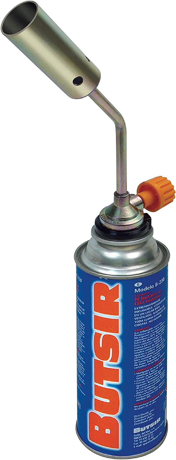 Butsir Soplete NS-1000 Incluido Cartucho de Gas B-250 ...