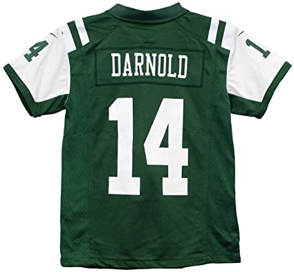 brand new 05bb2 943fb Amazon.com : Nike Sam Darnold New York Jets Team Color Youth ...