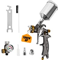 $109 » BEETRO HVLP Touch Up Air Spray Gun Professional Gravity Feed Detail Sprayer For…
