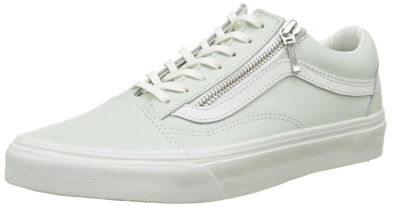 Vans Old Skool Zip Womens Sneakers Green B01I2AY46U 6 M US Women / 4.5 M US Men|Zephyr Blue/Blanc De Blanc
