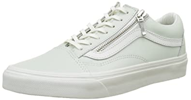 vans old skool zip damen grau