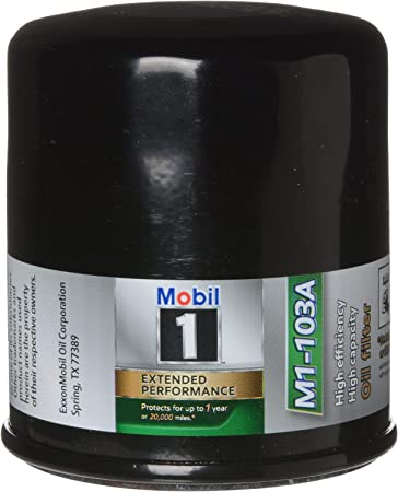 Mobil 1 Oil Filter >> Mobil 1 M1 103 M1 103a Extended Performance Oil Filter