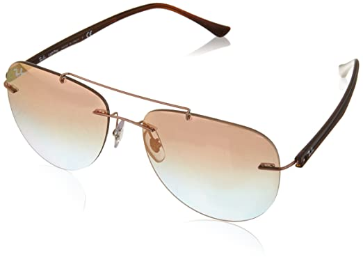 15bf6d9380 Image Unavailable. Image not available for. Color  Ray-Ban Men s Titanium  Man Sunglass ...
