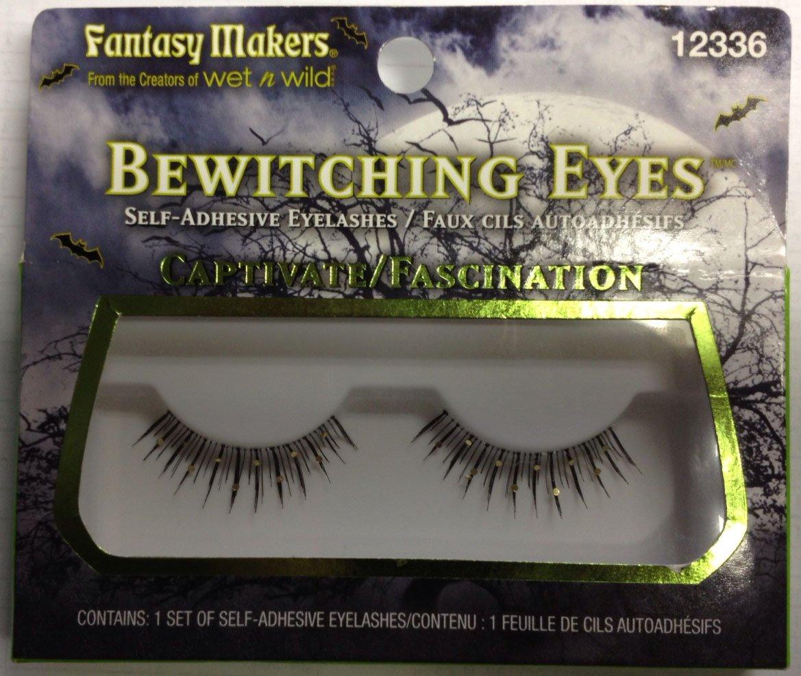 2fdb76e5ce0 Amazon.com : Fantasy Makers Bewitching Eyes Self-Adhesive False Eyelashes-  CAPTIVATE 12336 : Fake Eyelashes And Adhesives : Beauty