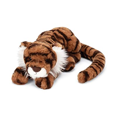 Jellycat Tia Tiger Stuffed Animal, Little 11 inches: Toys & Games