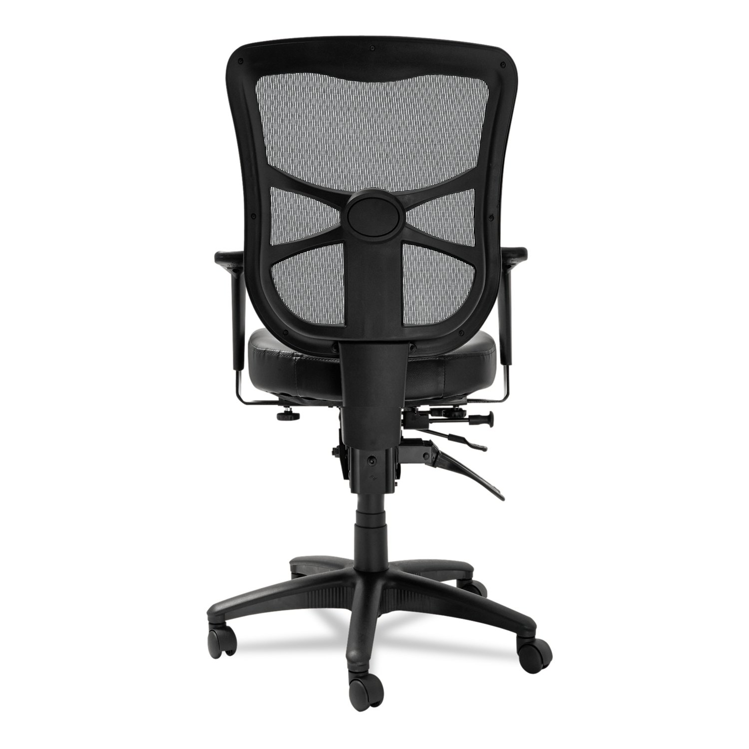 Amazon Mid Back Multifunction Chair in Black Kitchen & Dining