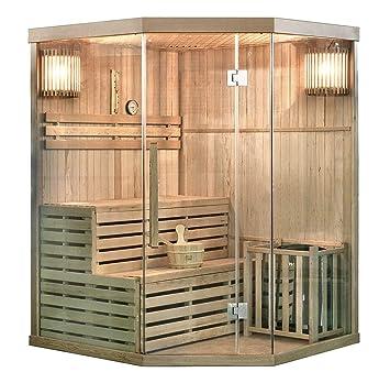 Home Deluxe Traditionelle Sauna Skyline Xl Holz Hemlocktanne