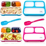 PIXI Creations Bento Boxes for Kids Lunches | Leak-Proof Meal Prep Lunch Box | Sleek and Modern Bento-Style Design| BPA…