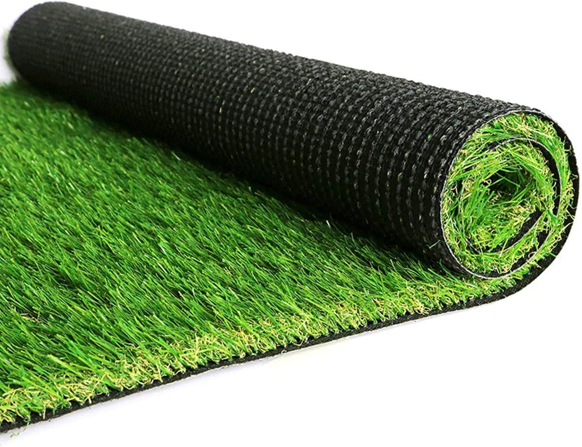 OUTDOOR DOIT Artificial Grass Turf Lawn, 4.2FT x 7.2FT (30.5Square FT),Indoor Outdoor Garden Turf Grass Landscape Synthetic Grass Mat for Backyard Patio Garden Balcony,Rubber Backing/Drainage Holes