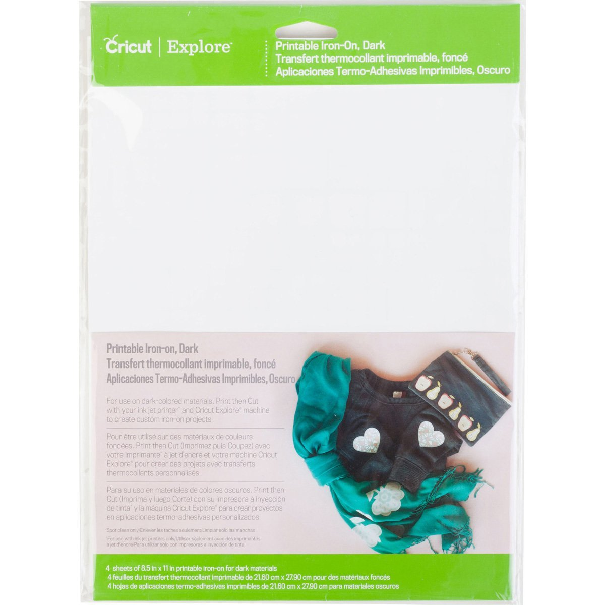 Cricut 2002745 Printable Iron-On for Scrapbooking, Dark