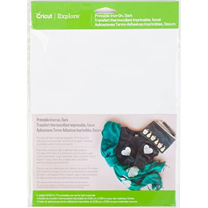 image about How to Use Printable Heat Transfer Vinyl Cricut identified as Cricut 2002745 Printable Iron-Upon for Sbooking, Dim
