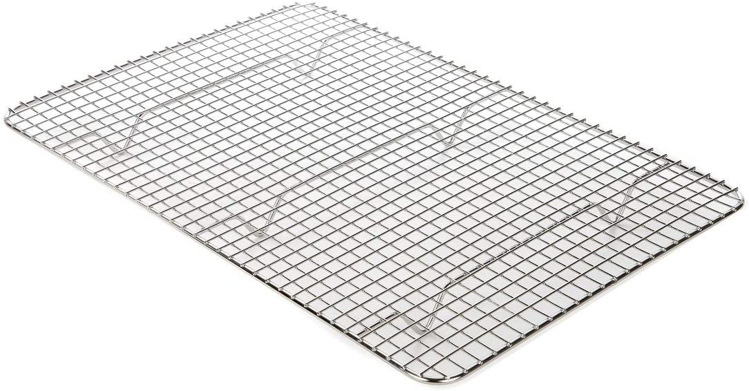 Lily's Home Cooling Rack - Baking Rack - Heavy Duty, 100% Stainless Steel, Oven Safe, 15 x 10 inch