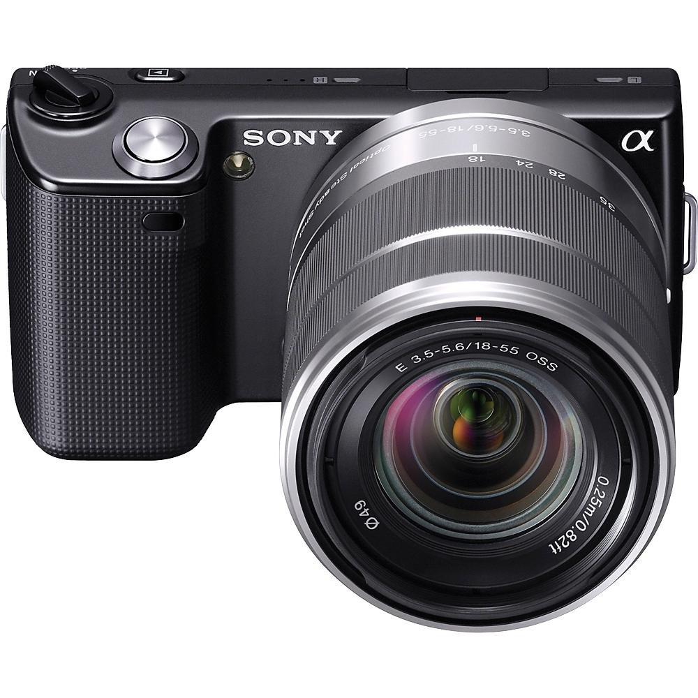 Amazon sony alpha nex5kb digital camera with 18 55mm amazon sony alpha nex5kb digital camera with 18 55mm interchangeable lens black camera photo sciox Images