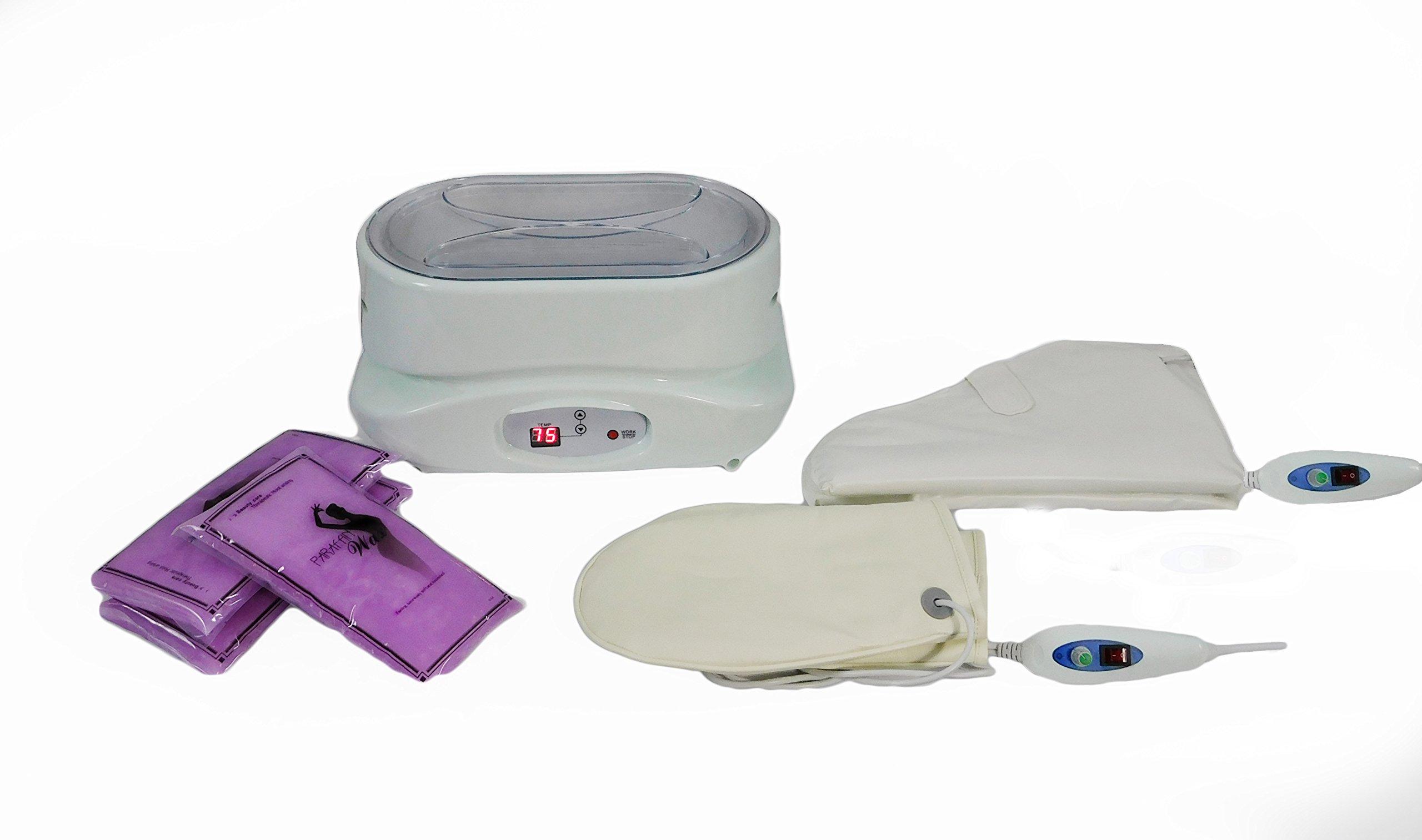 Digital Paraffin Bath Wax Warmer Heater with Gloves and Wax TLC-5010GW