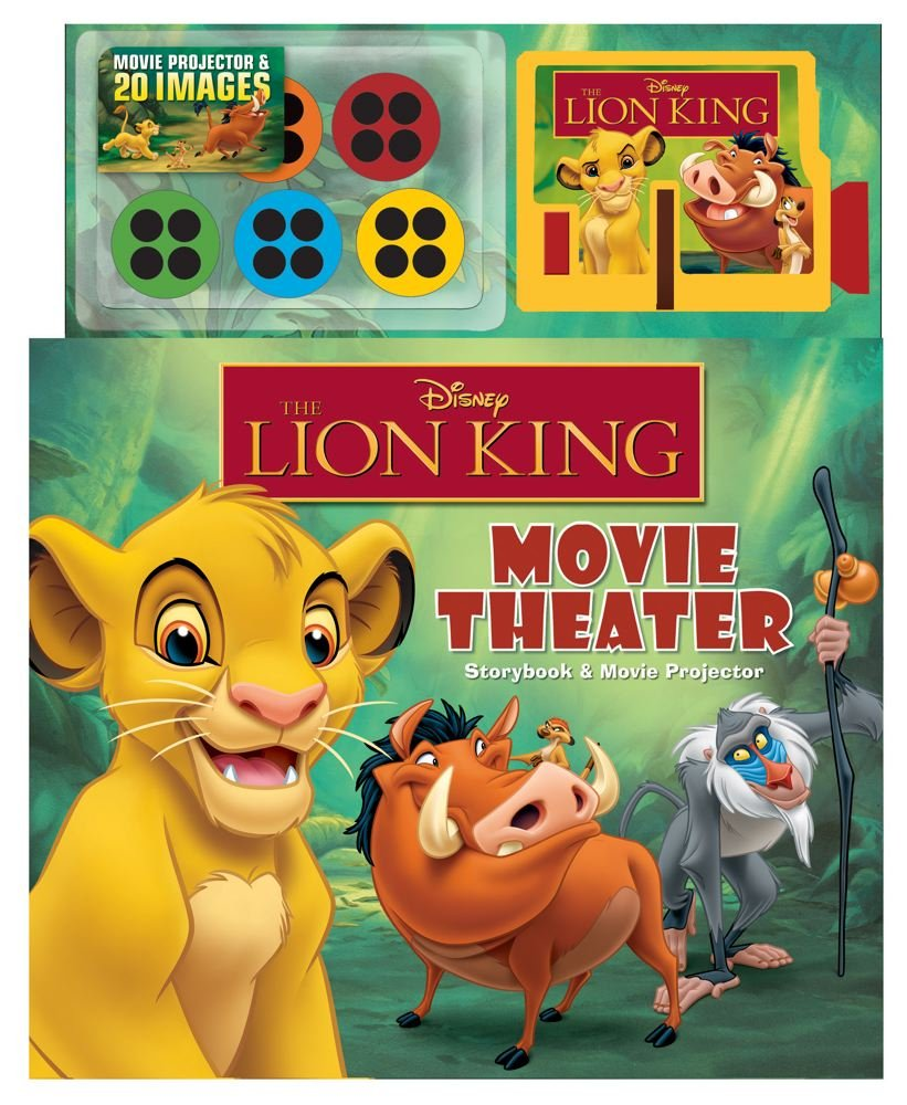 37d73f11 Disney The Lion King Movie Theater: Storybook & Movie Projector ...