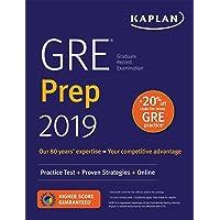 GRE Prep 2019: Practice Tests + Proven Strategies + Online