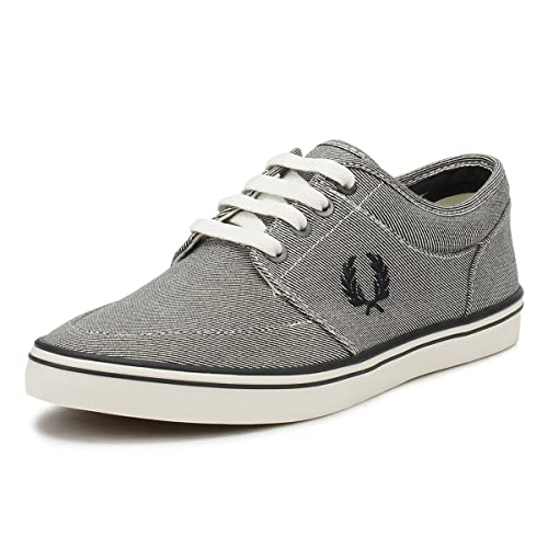 Fred Perry Zapatillas Stratford Printed Gris: Amazon.es: Zapatos y complementos