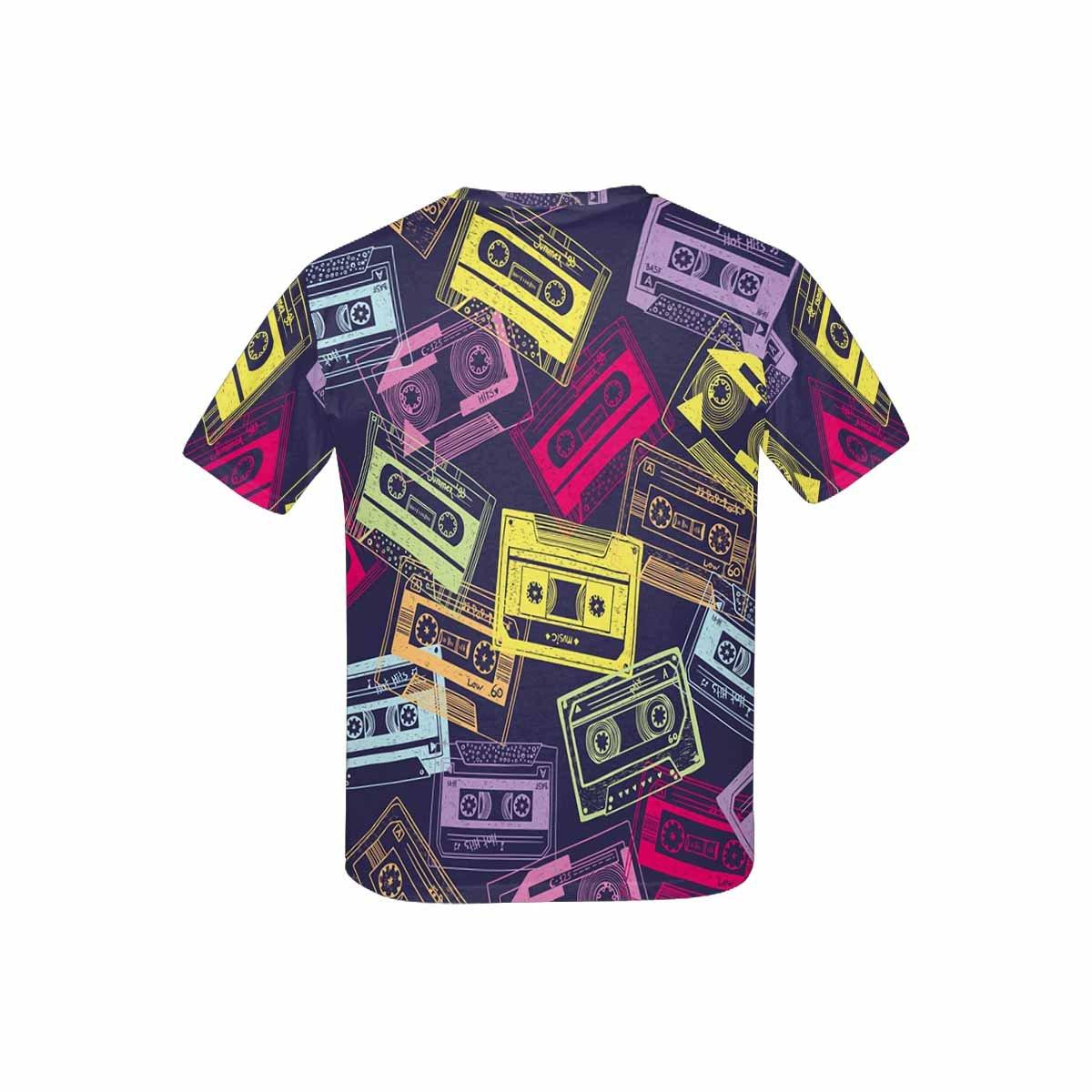 XS-XL INTERESTPRINT Youth T-Shirts Hipster Cartoon Music Theme