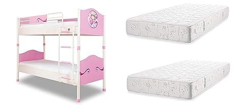 dafnedesign. COM – Cama para Dormitorio para niña O niña – Un litera decorado con