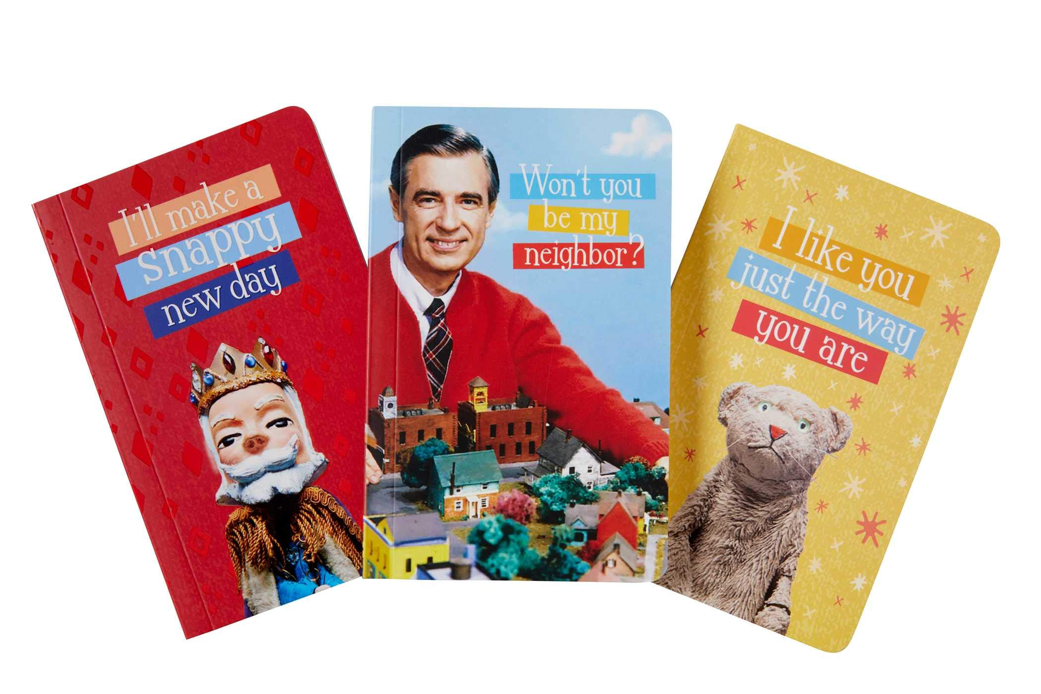 Mister Rogers' Neighborhood Pocket Notebook Collection (Set of 3) (Classics)