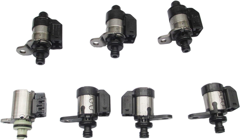 High Ohm Set of 7 RE5R05A Transmission Solenoid Kit for 02UP Nissan Pathfinder