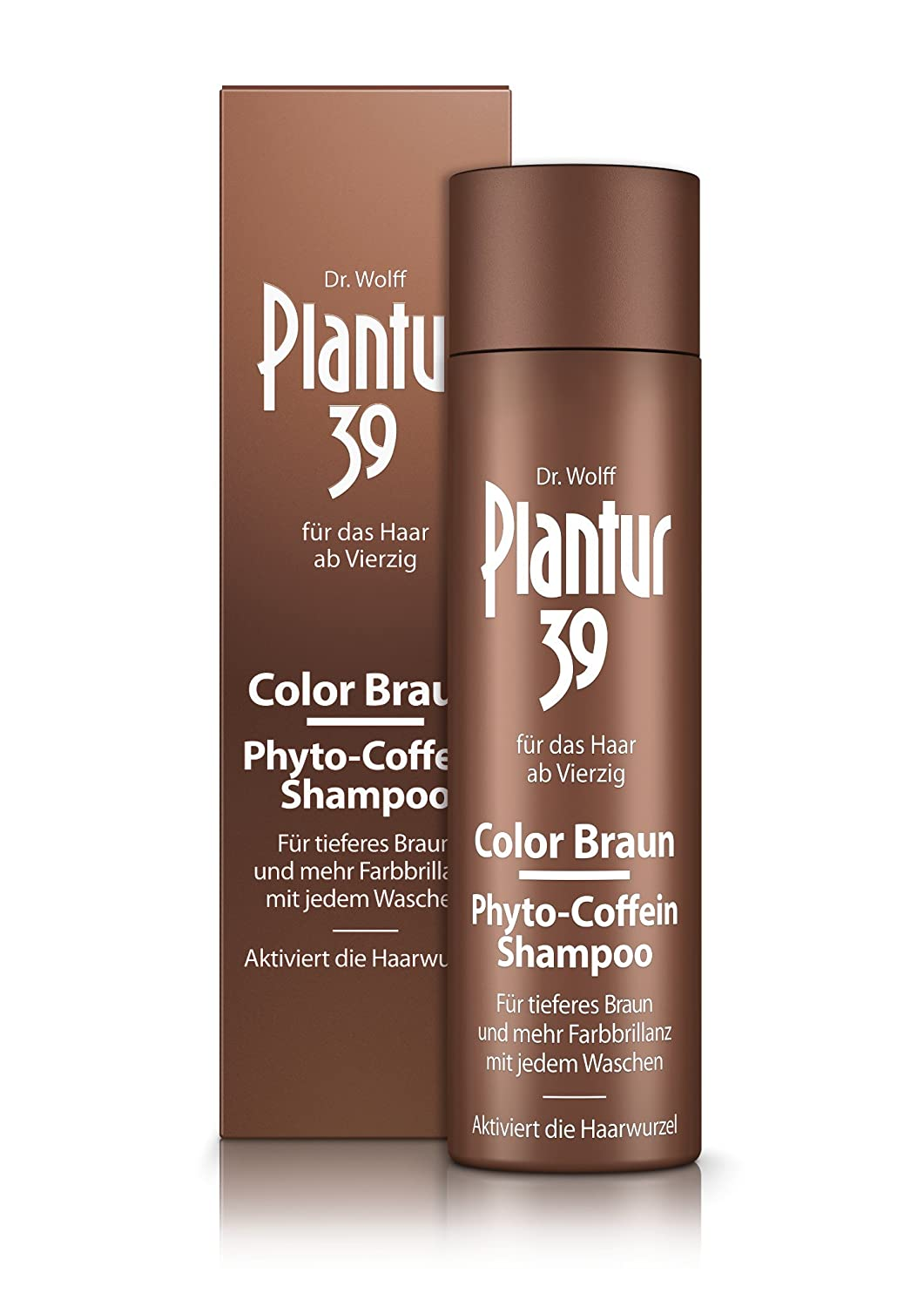 Plantur 39 Color Braun Phyto Coffein Shampoo, 250 Ml: Amazon.co.uk: Beauty