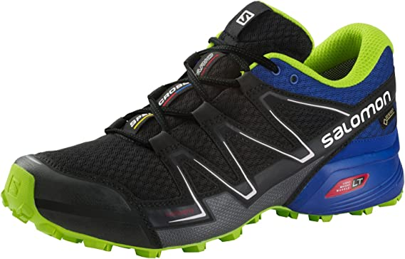 Intersport Salomon Speed Cross Vario GTX? – Black/Blue Yonder ...