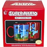 Nintendo Super Mario Brothers Heat Changing Mug, 5 X 4 X 3 inches