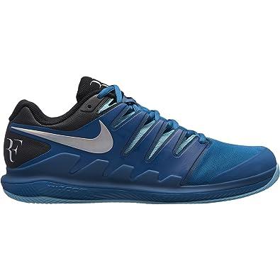 d0eb9d4fee1 Nike Chaussures de Tennis Junior air Zoom Vapor x RF Clay aa8021 300 bleu-38