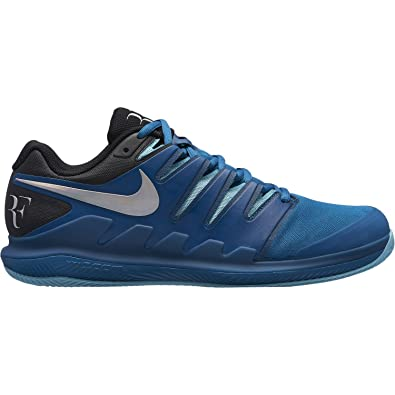 super popular e1bbb e80ef Nike Chaussures de Tennis Homme air Zoom Vapor x RF Clay aa8021 300 bleu-42