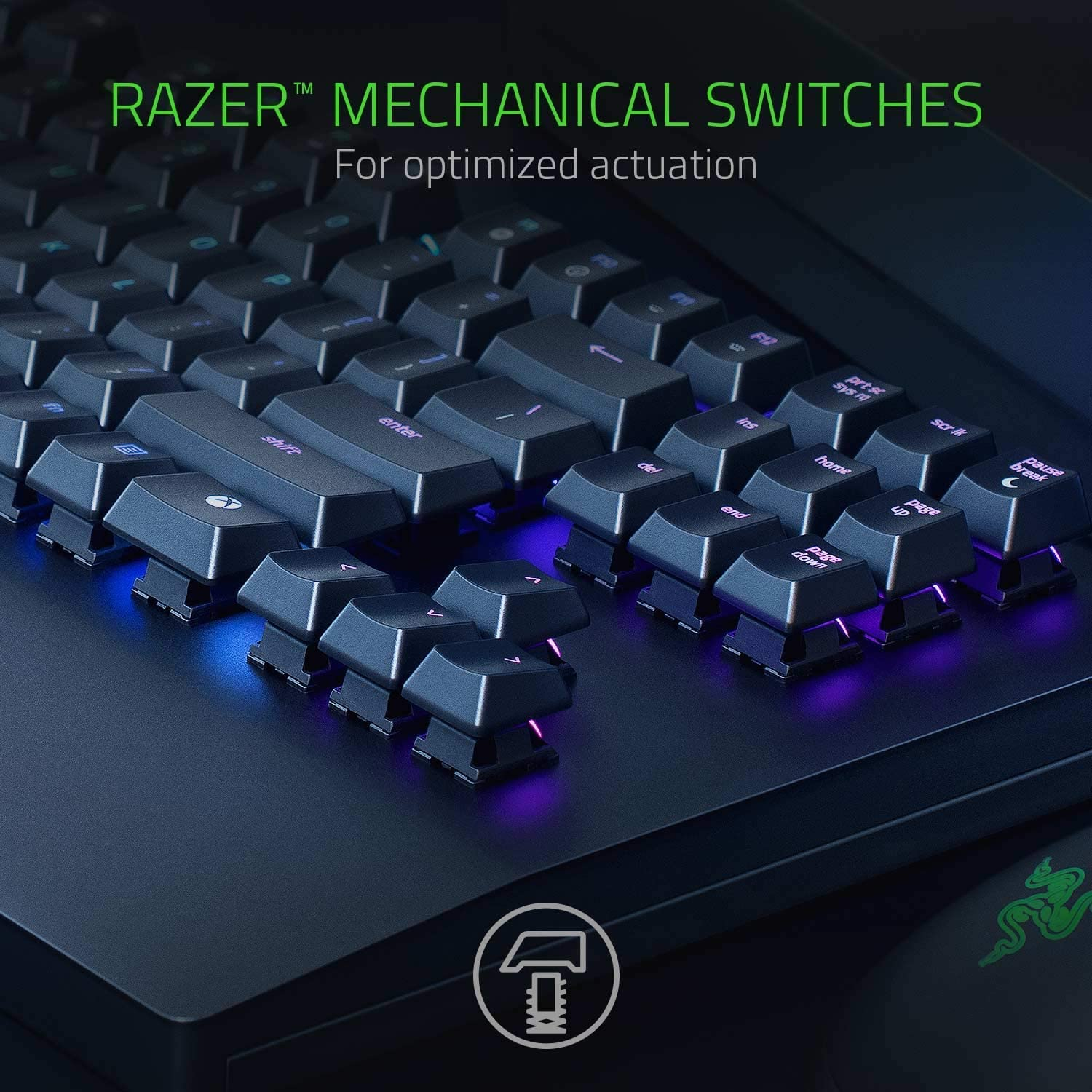 Razer Turret Wireless Mechanical Gaming Keyboard /& Mouse Combo for PC /& Xbox One: Chroma RGB//Dynamic Lighting Renewed Retractable Magnetic Mouse Mat 40hr Battery