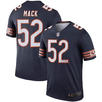 big sale 6e850 6e36f Mitchell & Ness Men's NFL Chicago Bears Khalil Mack #52 Jersey-Navy