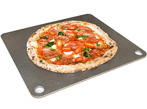 Nerdchef Steel Stone Baking Surface for Pizza