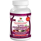 Activa Naturals Super Antioxidant Supplement with Acai, Pomegranate, Mangosteen, Goji, Noni & Berries Herbs - 120 Veg. Caps