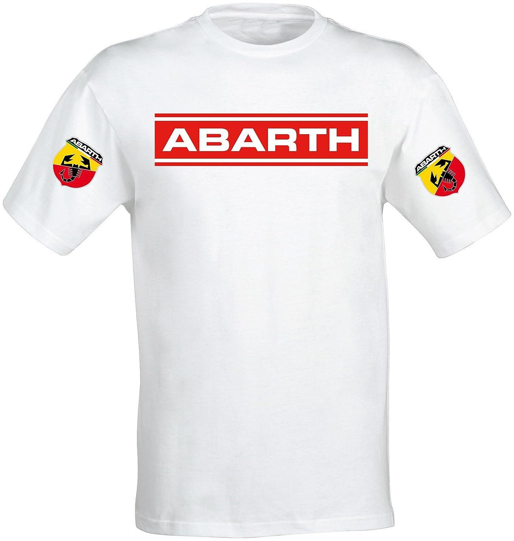 Camiseta Camisa T-Shirt tee Deportiva Hombre Abarth 500 Fiat Team ...